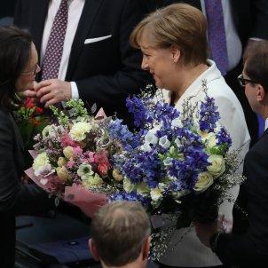 Merkel canciller alemana EFE