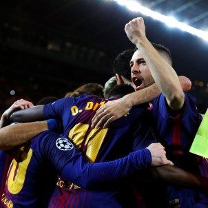 Barça Chelsea celebració gol Efe