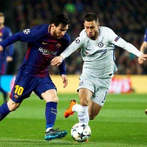 Messi Hazard Barça Chelsea Efe