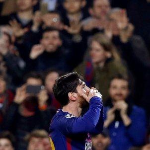 Leo Messi gol Barça Chelsea Champions   EFE