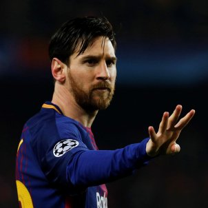 Leo Messi gol Chelsea Barça Champions   EFE
