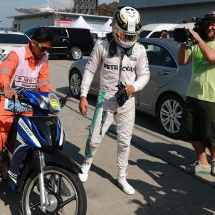 Lewis Hamilton GP Malàisia Fórmula 1 Efe