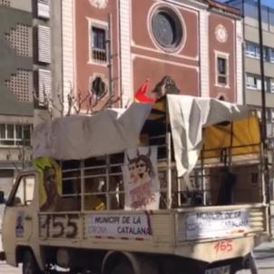 Furgoneta unionista Mataró OK