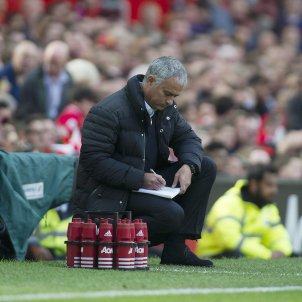 Jose Mourinho Manchester United Old Trafford EFE
