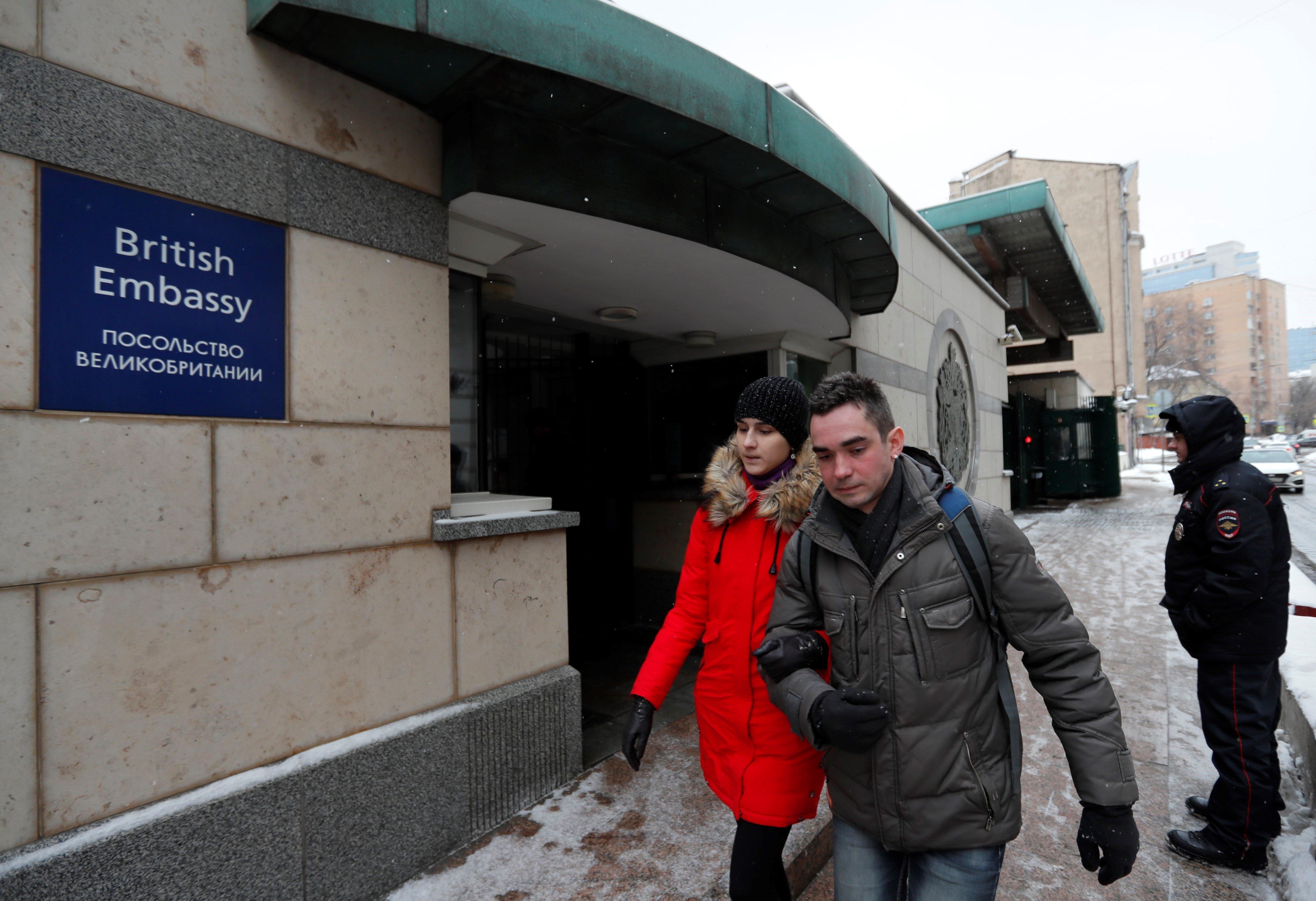 Ambaixada britànica moscou efe