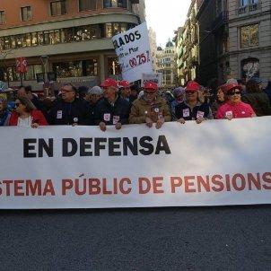 Manifestació pensions @ccoocatalunya
