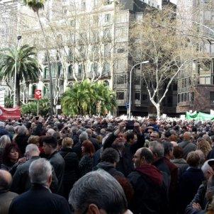 Manifestació pensions Juan Fuentes