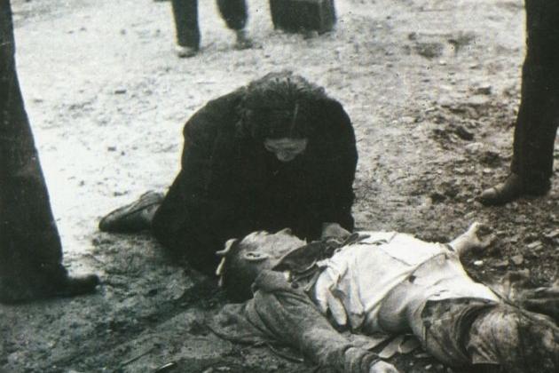 Víctimes bombardeig Lleida 02 11 1937. Font Arxiu d'El Nacional
