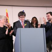 Puigdemont i consellers exili - ACN