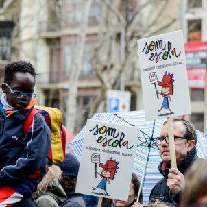 Manifestació 'L'escola catalana no té por' 18