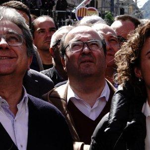 Iceta Millo Montserrat manifestació SCC Robert Lázaro