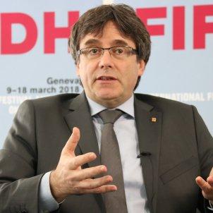Carles Puigdemont Ginebra ACN