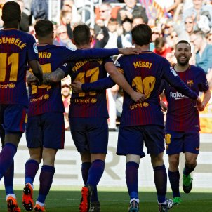 Barça Athletic Club celebració gol Efe