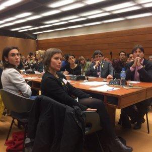 Puigdemont ONU familiars presos   Carlota Camps