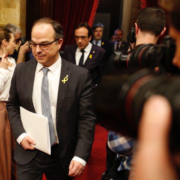 Jordi Turull Ple Investidura Sergi Alcazar (5)
