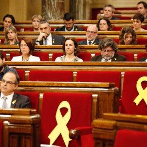 abscència marta rovira ple parlament - sergi alcazar