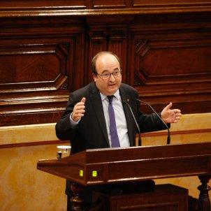 Miquel Iceta  PArlament - Sergi Alcazar