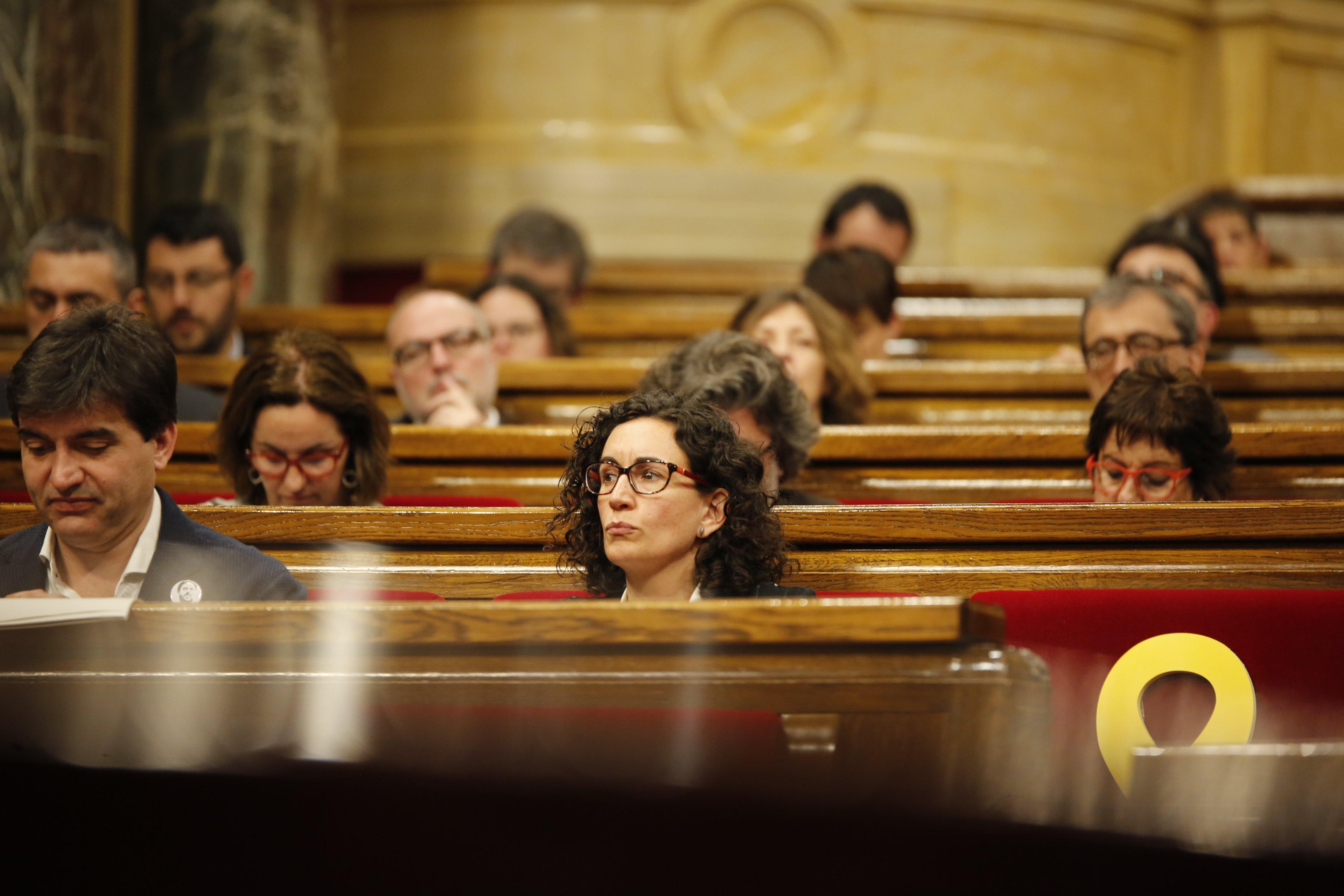Marta Rovira ERC - Sergi Alcàzar