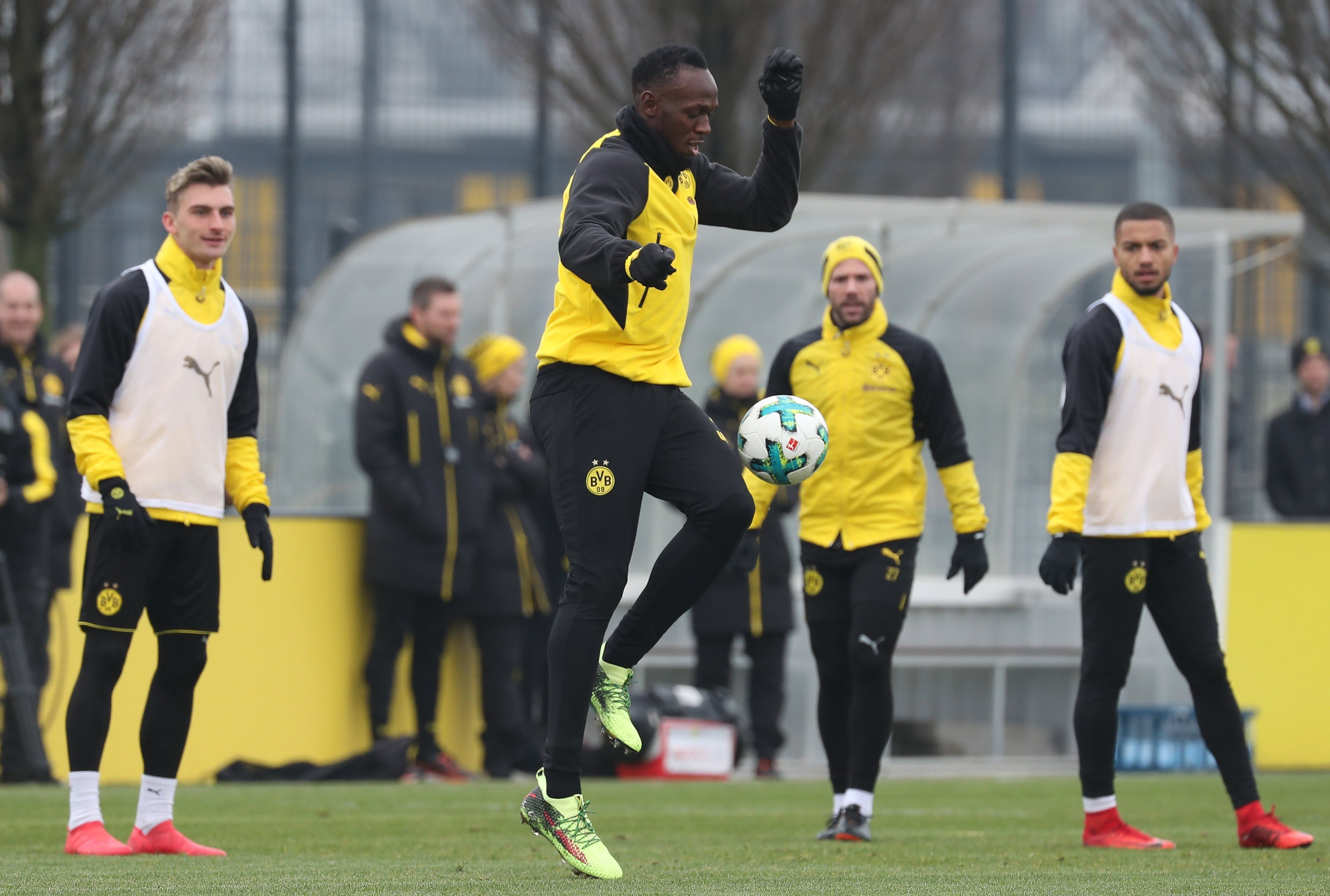 Usain Bolt Borussia Dortmund Efe