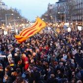 manifestacio presos turull diputats - sergi alcazar