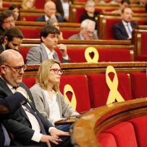 llaços grocs ple hemicicle - Sergi Alcàzar