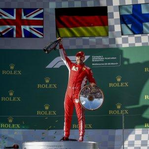 Sebastian Vettel victoria Australia F1   EFE