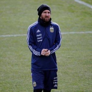 Messi entrenament Argentina EFE