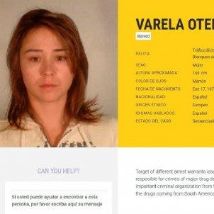 Tania Varela narcotraficant gallega EFE