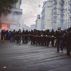 black bloc mila 2015 manifestants antisistema wikipedia