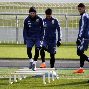 Leo Messi argentina entrenament   EFE