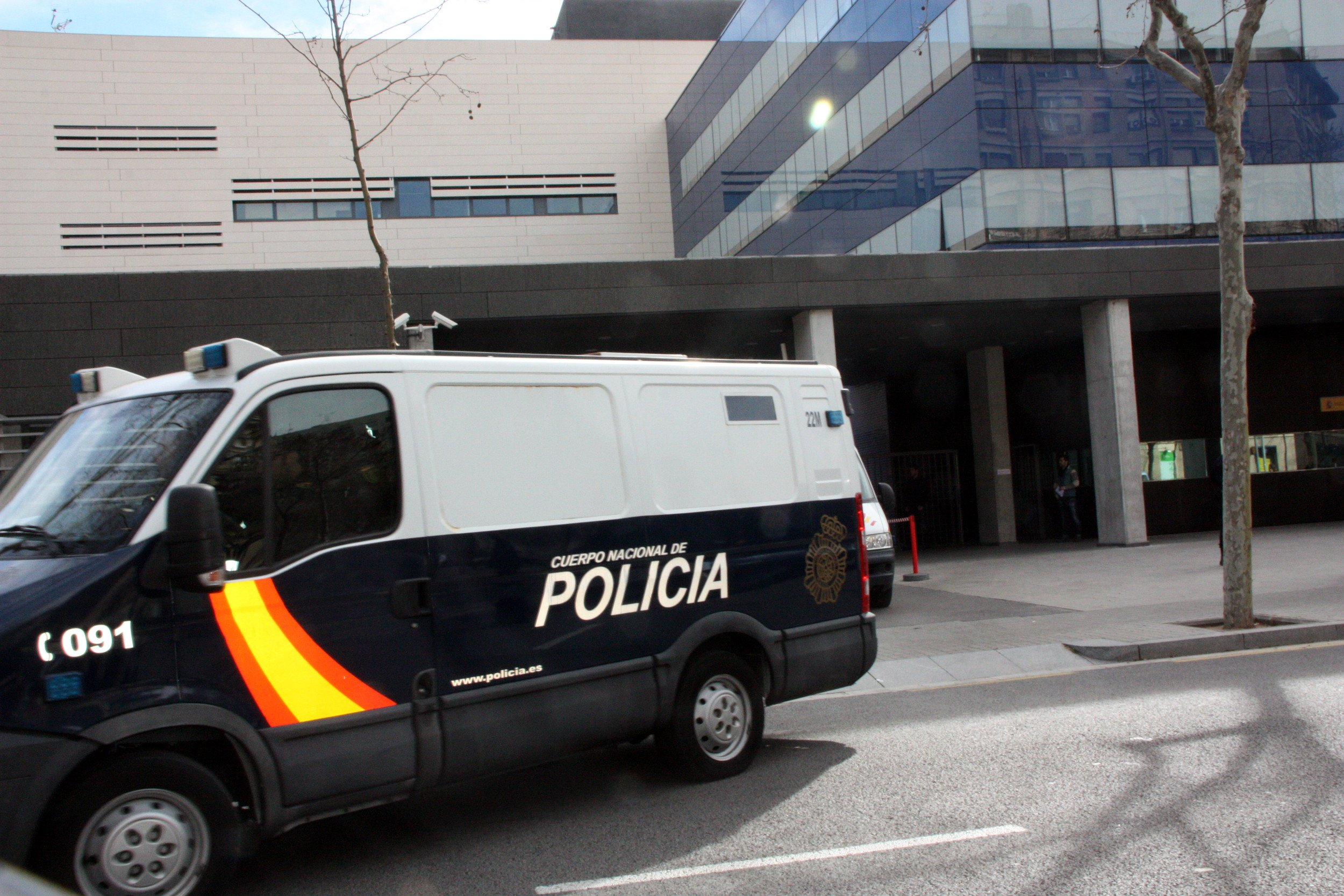 comissaria verneda policia nacional - acn