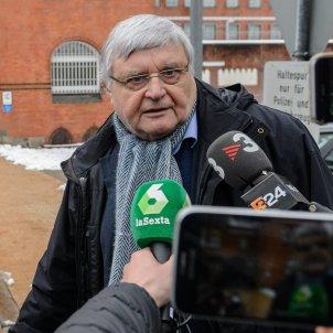Wolfgang  Schomburg advocat Puigdemont Alemanya EFE