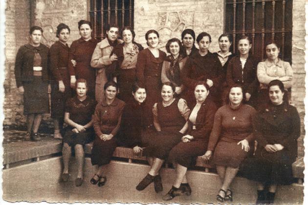 Las tropas franquistas ocupan Valencia y Alicante. Reclusas de la Prisión Provincial de Valencia (1939 1941). Fuente Universidad de Valencia