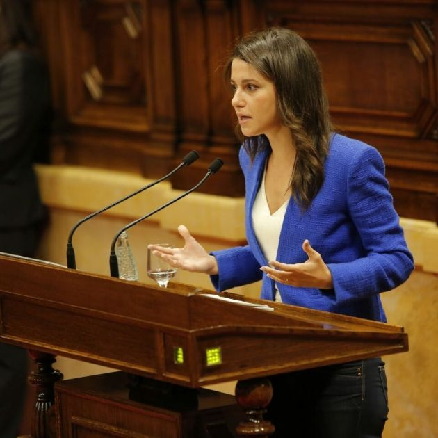 [GOVERN] Ratificació del cessament de Daniel de Alfonso com a Director de l'Oficina Antifrau de Catalunya Arrimadas%20parlament%20sergi%20alcazar_1_630x630