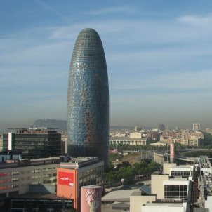 Torre Agbar and Glories