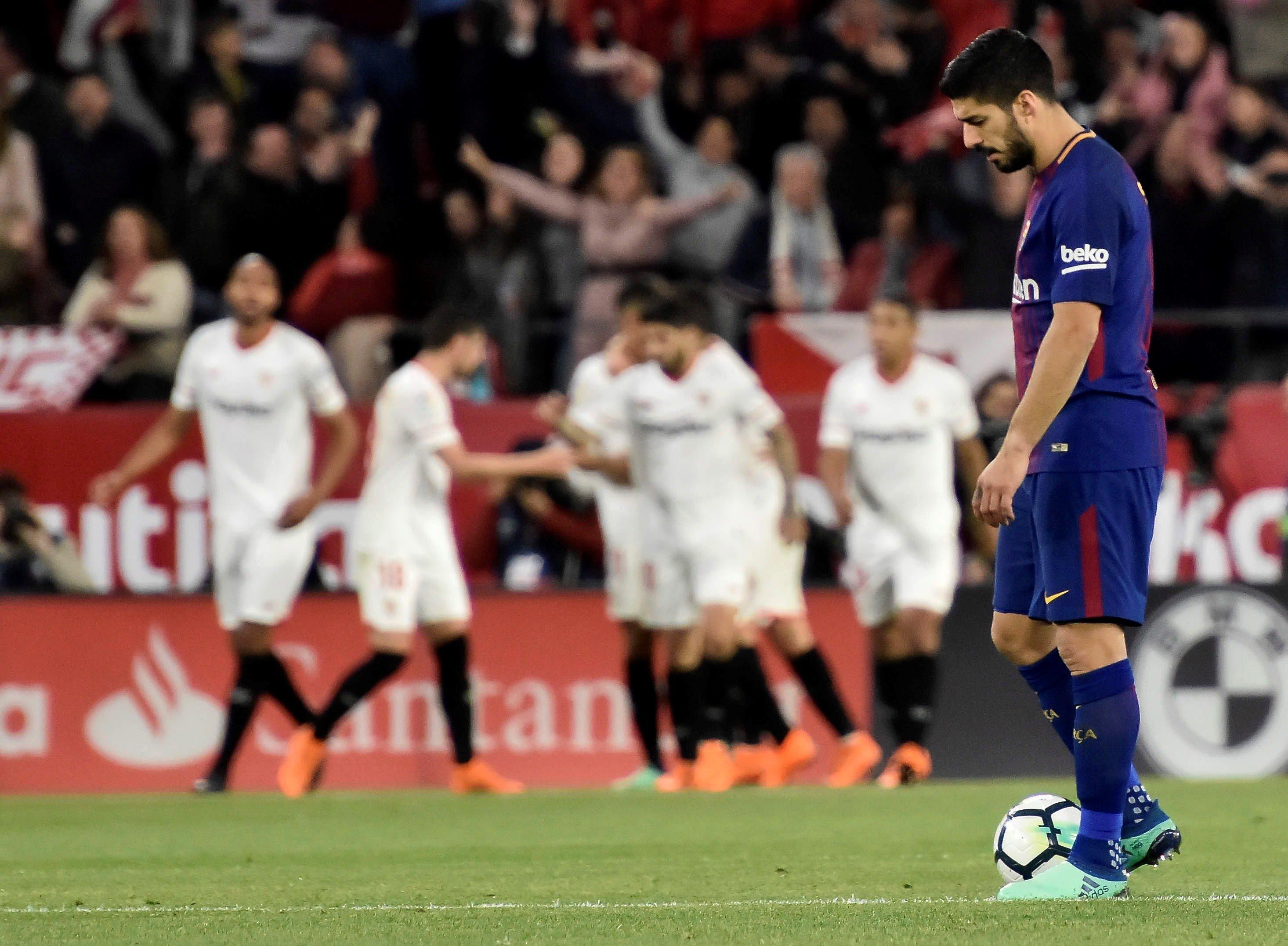 Luis Suárez Sevilla Barça Efe