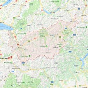 google maps canto valais
