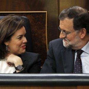 Soraya Saenz de Santamaria-Mariano Rajoy-PP-efe