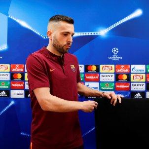 Jordi Alba Barça Roma Champions Efe
