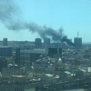 Incendi Barcelona Sants hotel / EN