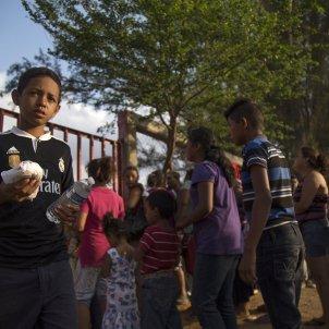 Migrantes centroamericanos EFE