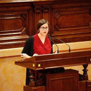 Jenn Díaz ERC ple Parlament Sergi Alcàzar