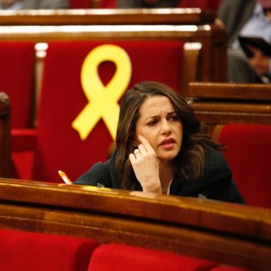 Inés Arrimadas llaços grocs - Sergi Alcàzar