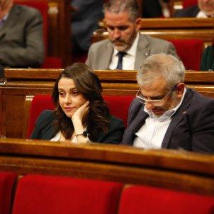 Arrimadas, Carrizosa, de Páramo ple Parlament Sergi Alcàzar