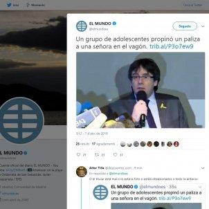 pallissa puigdemont a El Mundo