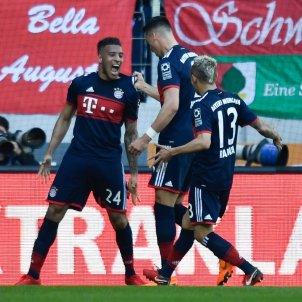Toliso Rafinha Bayern Celebració EFE