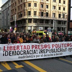 manifestacio presos politics madrid Twitter   @IzcaNacional
