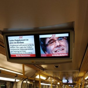 puigdemont metro berlin