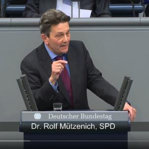 Rölf Mützenich portaveu SPD al Bundestag 20170905