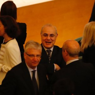 Pablo Llarena als despatxos judicials - Sergi Alcàzar